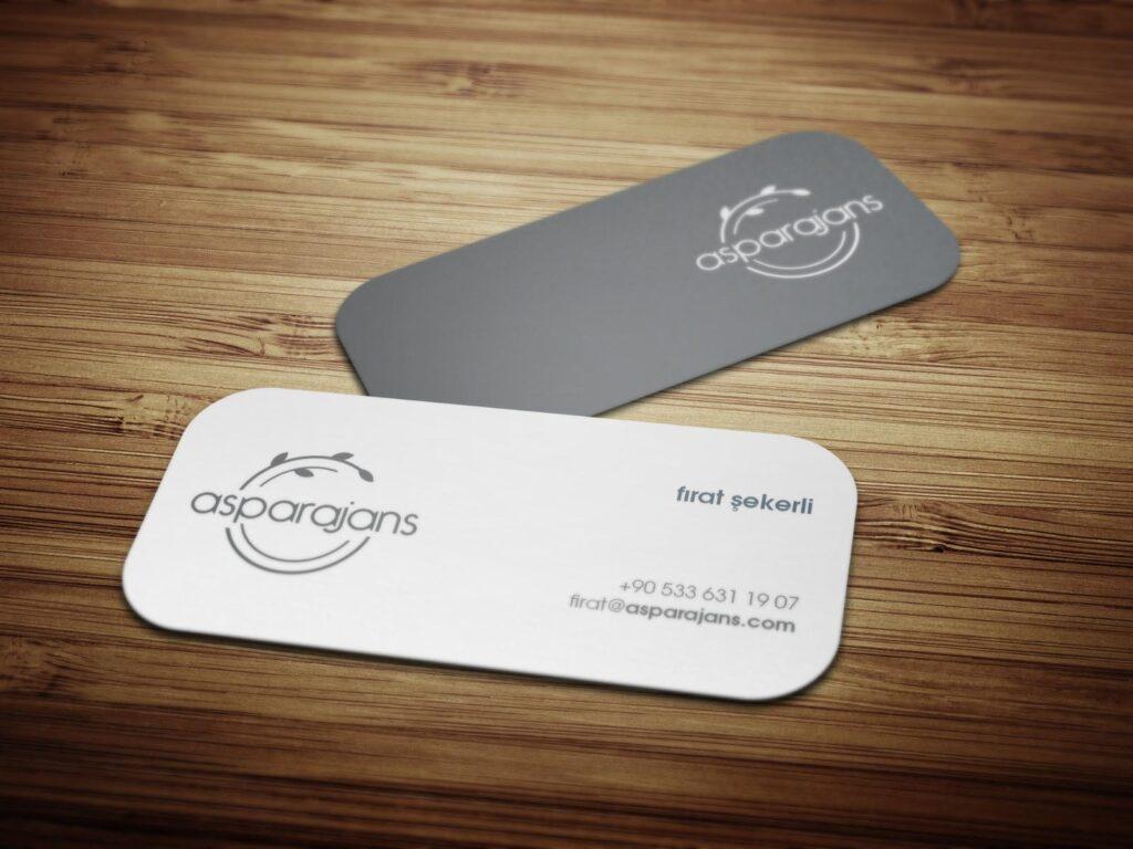 Business Card Asparajans